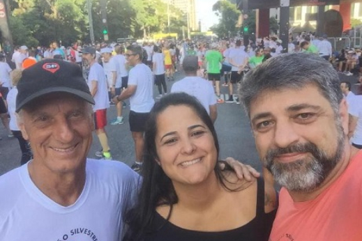 RUBINHO PARTICIPA MAIS UMA VEZ DA  CORRIDA DE  SÃO SILVESTRE